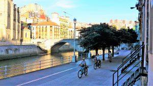 De los parques de Bilbao al muelle de Marzana