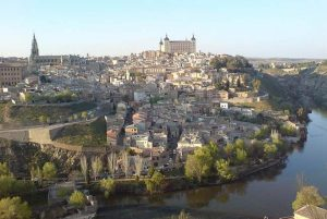 Toledo La ciudad del Tajo desde el Mirador del Valle. FLICKRcientífico